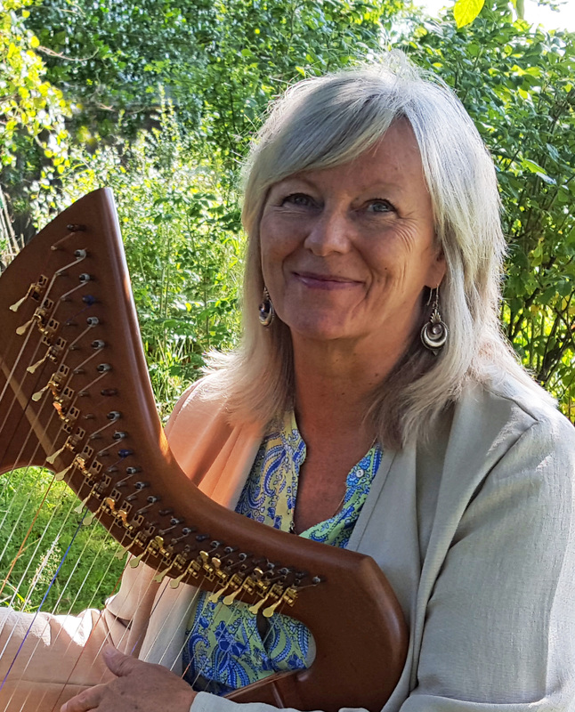 Julie Darling and the Celtic Harp